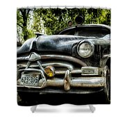 Hudson Cruiser Shower Curtain by Todd and candice Dailey