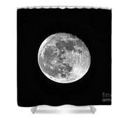 Hunters Moon Shower Curtain by Al Powell Photography USA