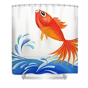 I Am Back Shower Curtain by Oiyee  At Oystudio