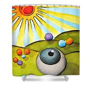 I Can See Clearly Now Shower Curtain by Oiyee  At Oystudio