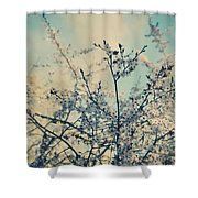 I Hope Spring Will Be Kind Shower Curtain by Laurie Search