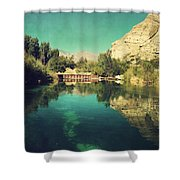 I See Right Through Shower Curtain by Laurie Search