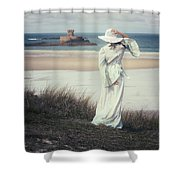 I See The Horizon Shower Curtain by Joana Kruse