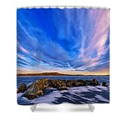 Icebound 6 Shower Curtain by Bill Caldwell -        ABeautifulSky Photography