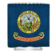 Idaho State Flag Shower Curtain by Pixel Chimp