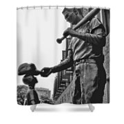 Idol Shower Curtain by Joann Vitali
