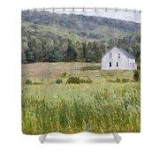 Idyllic Isolation Shower Curtain by Jeff Kolker