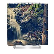I'm Not Giving Up On You Shower Curtain by Laurie Search