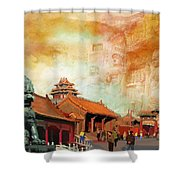 Imperial Palaces Of The Ming And Qing Dynasties In Beijing And Shenyang Shower Curtain by Catf