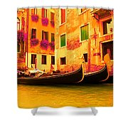 Impressionistic photo paint GS 007 Shower Curtain by Catf