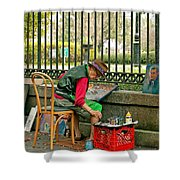 In Another World Shower Curtain by Steve Harrington