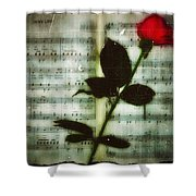 In My Life Shower Curtain by Bill Cannon
