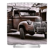 In The Alley Shower Curtain by Ken Smith