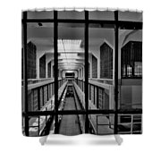 In The Clink Shower Curtain by Benjamin Yeager