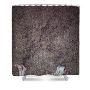 In The Hay Shower Curtain by Joana Kruse
