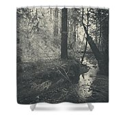 In This Silence Shower Curtain by Laurie Search
