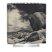 In This Strange Land Shower Curtain by Laurie Search