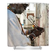 Incense For Marie Laveau Shower Curtain by Kathleen K Parker