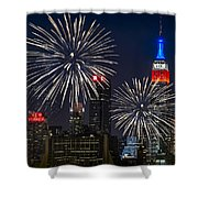 Independence Day Shower Curtain by Eduard Moldoveanu