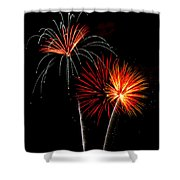 Independence Day  Shower Curtain by Saija  Lehtonen