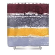 Indian Summer Shower Curtain by Linda Woods