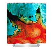 Infinite Color - Abstract Art By Sharon Cummings Shower Curtain by Sharon Cummings