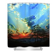 Inspiration Shower Curtain by Hanne Lore Koehler