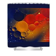Intergalactic Space 3 Shower Curtain by Kaye Menner