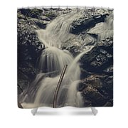 Interruptions Shower Curtain by Laurie Search