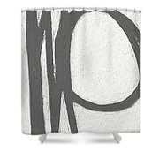 Intersection Shower Curtain by Linda Woods