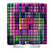 Iphone Cases Colorful Intricate Geometric Covers Cell And Mobile Phone Art Carole Spandau Cbs 169  Shower Curtain by Carole Spandau