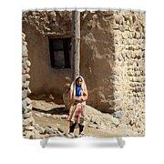 Iran Kandovan Resident Shower Curtain by Lois Ivancin Tavaf