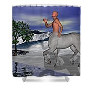Is There Anyone Like Me Shower Curtain by Betsy C  Knapp