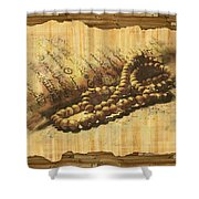 Islamic Painting 013 Shower Curtain by Catf