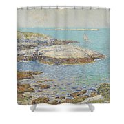 Isles Of Shoals Shower Curtain by Childe Hassam