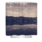 It Surrounds Me Shower Curtain by Laurie Search