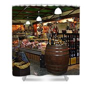 Italian Grocery Shower Curtain by Dany  Lison