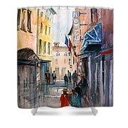 Italian Impressions 3 Shower Curtain by Ryan Radke