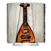 Italian Mandolin Shower Curtain by Bill Cannon