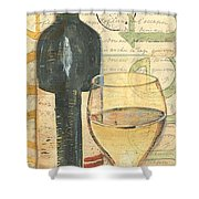 Italian Wine And Grapes 1 Shower Curtain by Debbie DeWitt