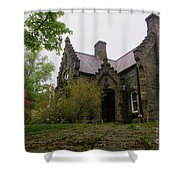 Its Alive Shower Curtain by John Malone