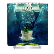 It's the End of the World as We Know It Shower Curtain by Erik Brede