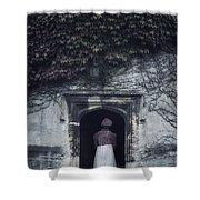 Ivy Tower Shower Curtain by Joana Kruse