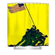 Iwo Jima 20130210p118 Shower Curtain by Wingsdomain Art and Photography