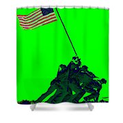 Iwo Jima 20130210p180 Shower Curtain by Wingsdomain Art and Photography