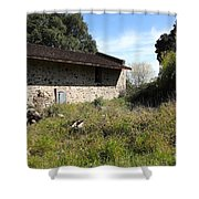 Jack London Ranch Distillery 5d22182 Shower Curtain by Wingsdomain Art and Photography