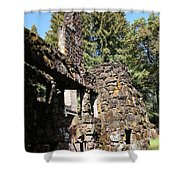 Jack London Wolf House 5d22019 Shower Curtain by Wingsdomain Art and Photography
