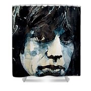 Jagger No3 Shower Curtain by Paul Lovering