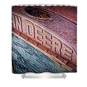 Jd Grille Shower Curtain by Inge Johnsson