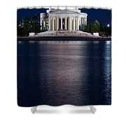 Jefferson Memorial Washington D C Shower Curtain by Steve Gadomski